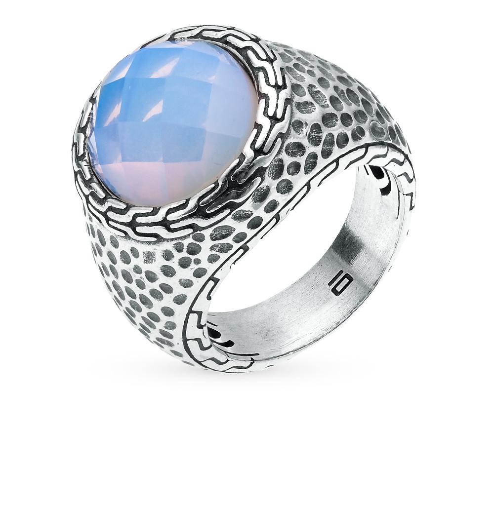 Фото «кольцо с опалом синтетическим»