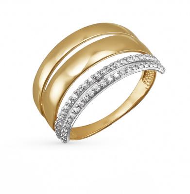 санлайт золотые серьги с сапфирами и бриллиантами