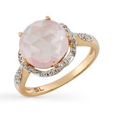 Фото «золотое кольцо с кварцами»