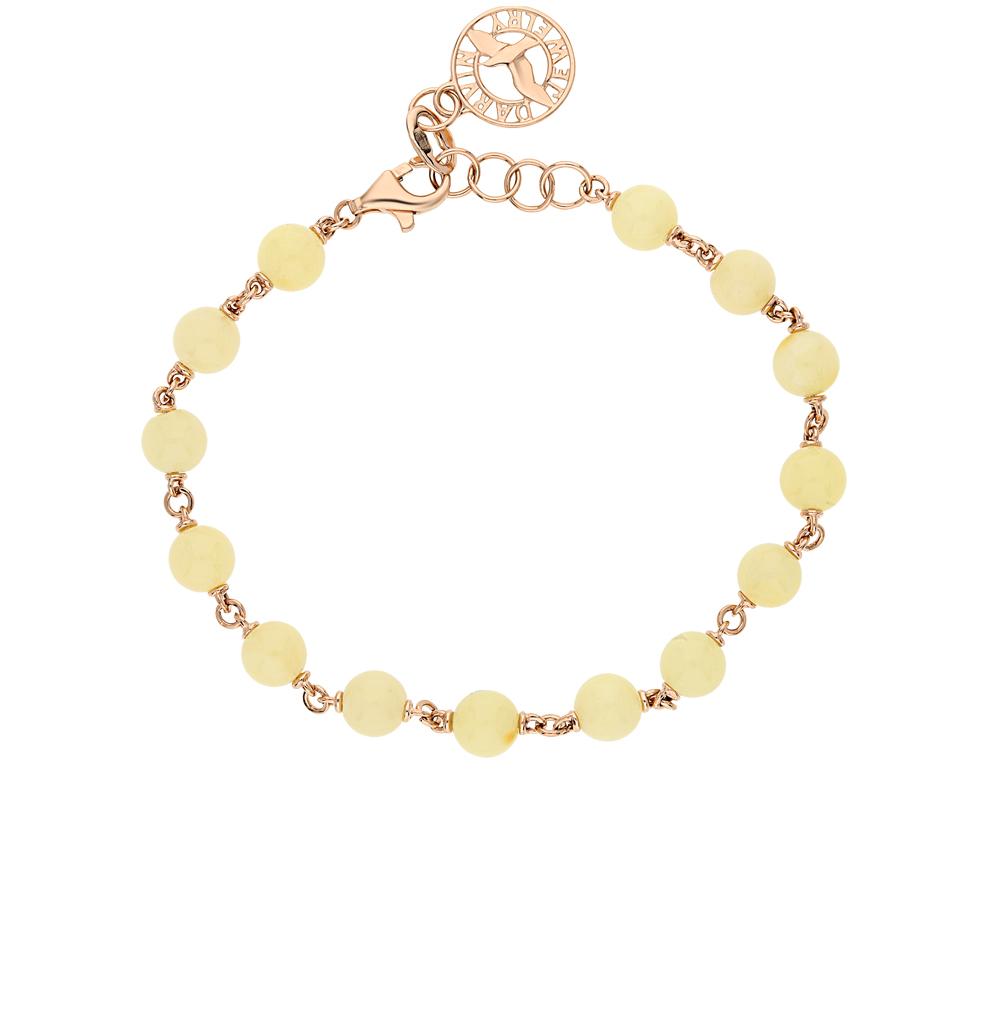Фото «золото браслет с янтарями»
