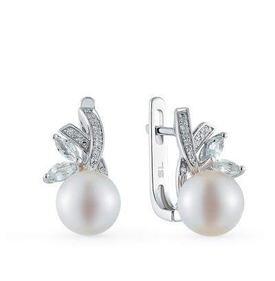 Фото «серьги с бриллиантами и топазами»