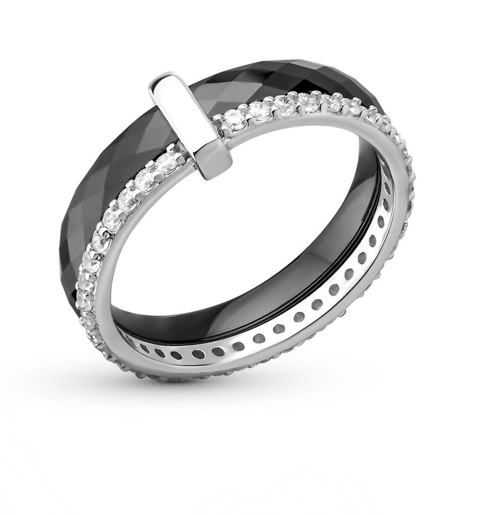 Фото «Керамика кольцо с фианитами»