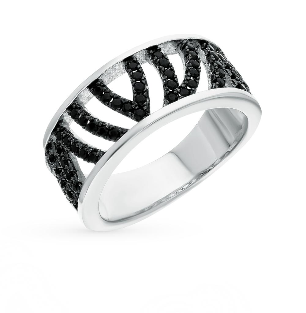 Фото «серебряное кольцо с шпинелями»