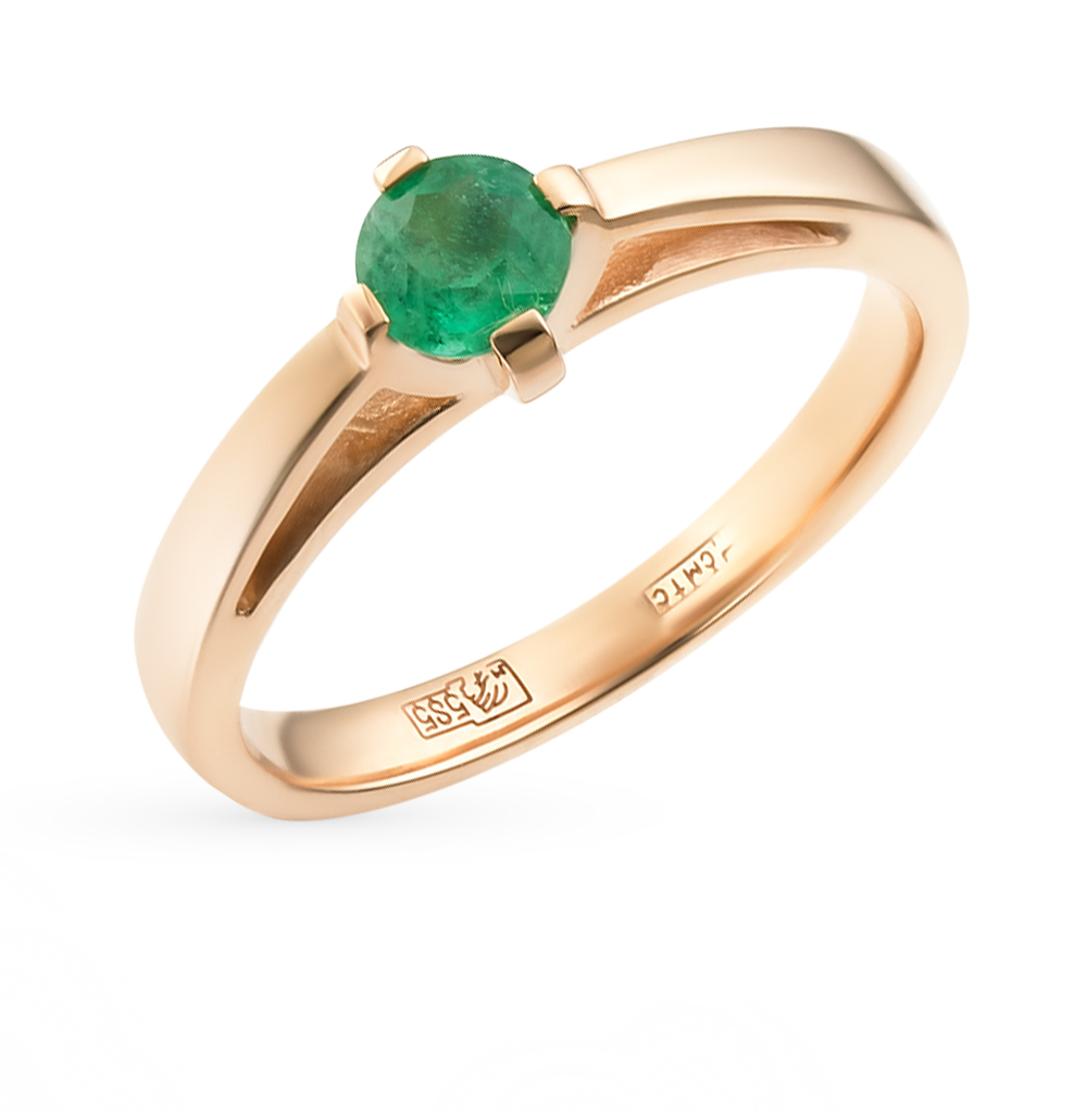 Фото «золотое кольцо с кварцами синтетическими и фианитами»